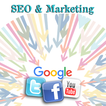 SEO, Search Engine Optimization for websites, Social Network Marketing